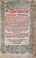 MHvHooch (1533) Titelblad