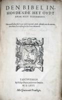 Leuvense (1566) Titelblad