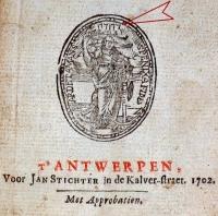 ADWitte (1702) JHWH-Vignet