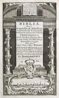 Biblia (1762) Titelgravure