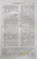 Voorhoeve (1877) 2Kor6,18