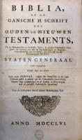 Jehovahbijbel (1756) Titel