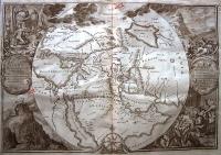 Lindenberg (1702) Wereldkaart