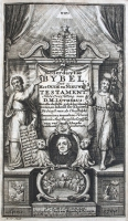 Lutherbijbel (1700) Titelgravure