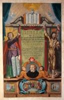 Lutherbijbel (1702) Titelgravure