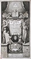 Lutherbijbel (1750) Titelgravure