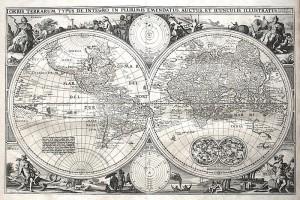 CJVisscher (ca.1650) WorldMap