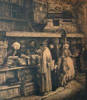 Boekenkraam van Jacob Van Liesvelt (door P. van Reeth)