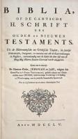 Jehovahbijbel (1755) Titel