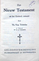 NT Van Tichelen Theodoor
