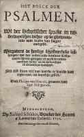 Psalmen-Marnix (1591) Titel