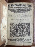 Woestijne des Heeren (1613) Titel