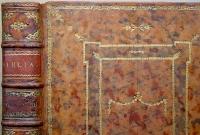 Jehovahbijbel (1755) Rug+Plat-I