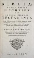 Jehovahbijbel (1755) Titelblad