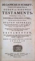 Jehovahbijbel (1762) Titel