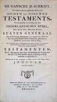 Jehovahbijbel (1762-II) Titelblad