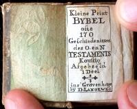 Printbybel (1750) Titelblad