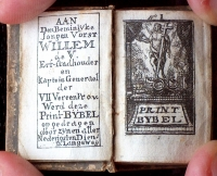 Printbybel (1750) Titelgrav