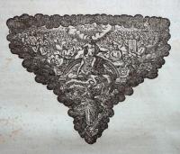 Wachter Dam (1643) eindornament-JHWH