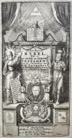 Lutherbijbel-1734-Titelgravure