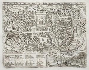 4. Visscher-Sm (1748) Ierusalem