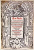 Liesveltbijbel (1542) Titelprent