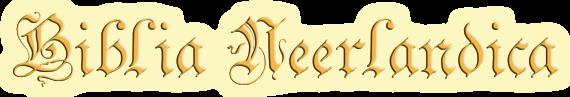 Biblia Neerlandica