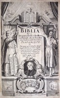 Lutherbijbel (1648) Titelgravure