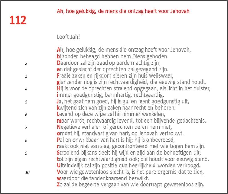 TLVG-Psalm 112