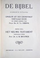 Vertaling Th. Obbink en A.M. Brouwer